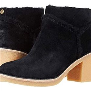 NIB UGG Kasen Sherpa Lined Ankle Boots